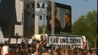 Bono, Bob, Youssou: Redemption Song - G8 concert