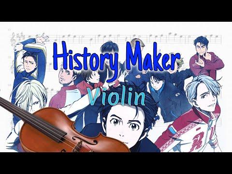 History Maker - Yuri!!! on Ice (Violin)