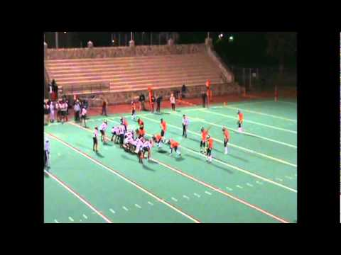 Bridgeport Central High School Football(#25 Frederick Tucker)