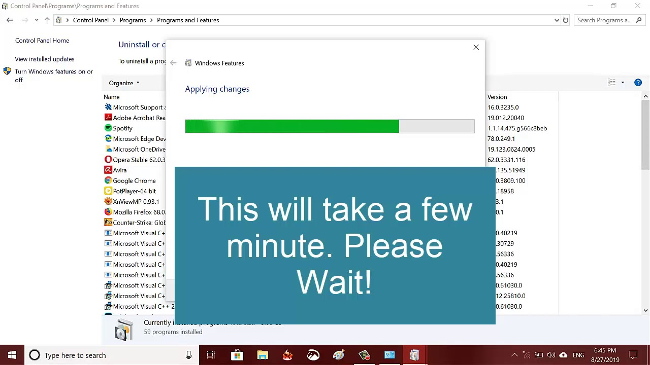 Install IIS Manager in Windows 27 (inetmgr command not working)