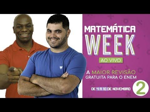 🔥 REVISÃO DE MATEMÁTICA ENEM 2018 👉🏻 Matemática Week (Aula 2) feat. Rodrigo Sacramento
