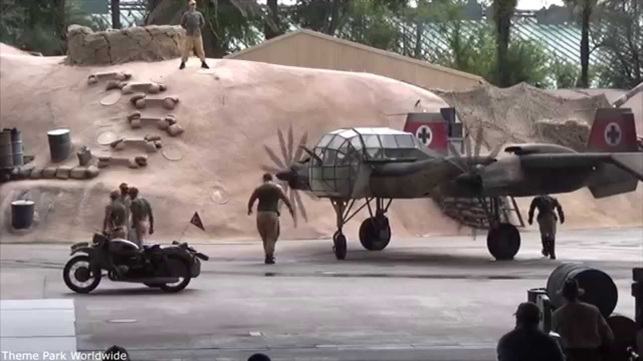 Indiana jones epic stunt spectacular show highlights hd hollywood