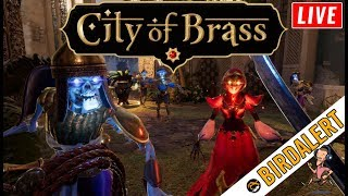CITY OF BRASS - New Indie Game, Best of 2018 | Charity Donations | Birdalert [NEW]