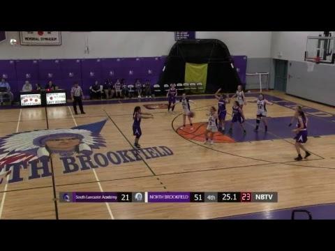 North Brookfield Girls Varsity basketball vs South Lancaster Academy 2nd Half