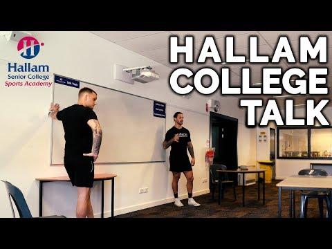 Hallam College Talk With Christian Woodford & Sandor Earl