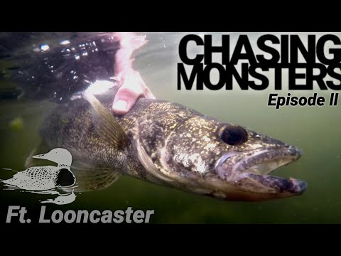CHASING MONSTERS On Heidecke Lake (Episode 2- Part 1)[FT.Looncaster]