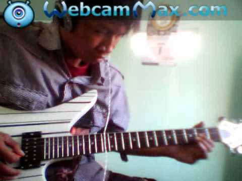 captain jack hati hitam guitar cover