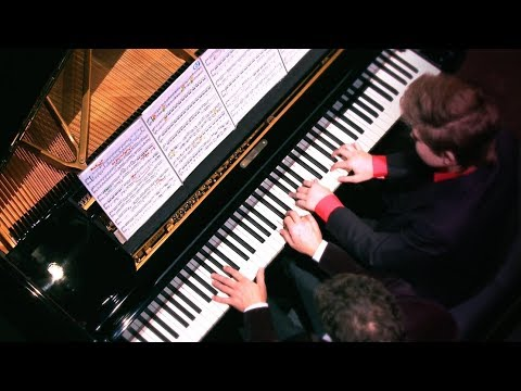 Michael Andreas, 14 y/o Mozart  Sonata 4 Hands in D major K  381