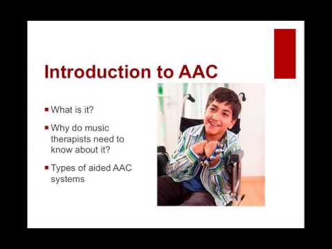 AAC Devices in Music Therapy with Anita Gadberry, PhD, MT-BC