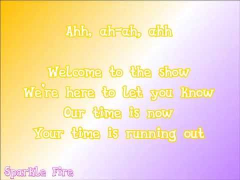 MLP: Rainbow Rocks - Welcome To The Show - Lyric