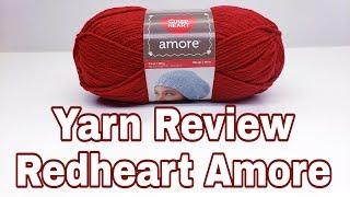 Yarn Review - Redheart Amore Yarn | Good or not so Good | Bag-O-Day Crochet Video screenshot 3
