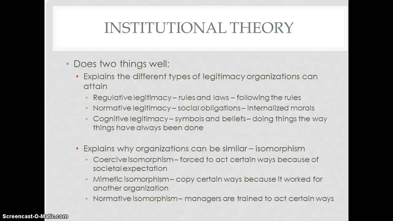 organizational theories Quately describe the objects and events being investigated and (b) to establish theories by which events and objects can be explained and.