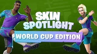 Coupe du Monde Skins Spotlight (Fortnite Battle Royale)