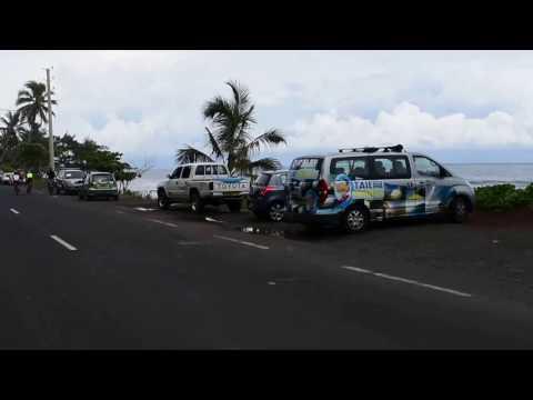 Tahiti, French Polynesia - Driving Around Tahiti HD (2017)