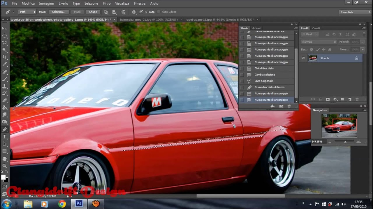 Fiat uno turbo i e virtual tuning photoshop youtube altavistaventures