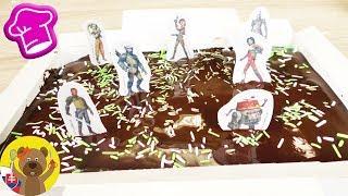 STAR WARS brownies z krabice | Čokoládové brownies | Rýchle brownies s EXTRA čokoládou & ozdobami