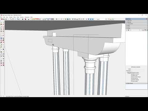 Making Nested Furniture in SketchUp - FineWoodworking on rain barrels, rain gutter downspout design, rain gardens 101, rain harvesting system design, french drain design, dry well design, gasification design, rain illustration, rain construction, rain water design, bioswale design, rain art drawings, rain roses,