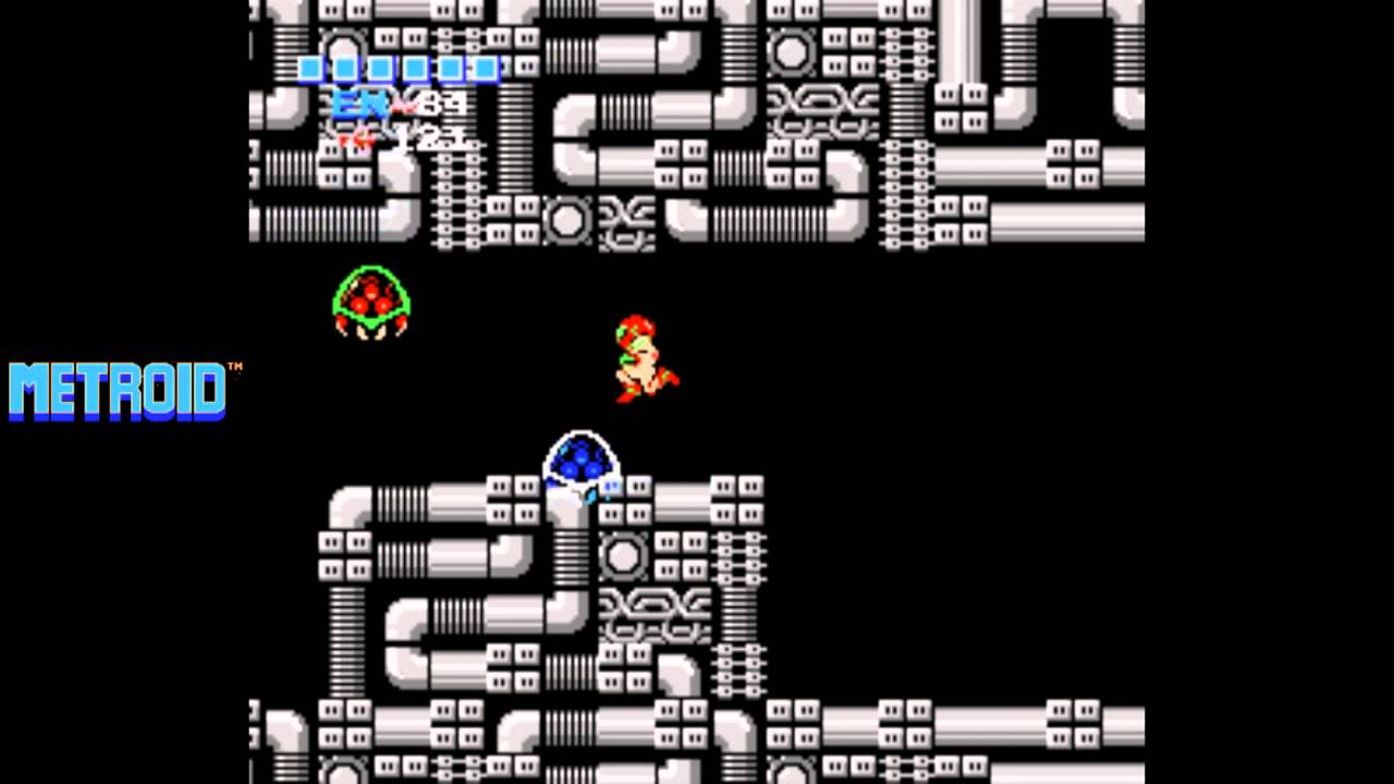 Metroid Nes Playthrough 04 Tourian Mother Brain Youtube
