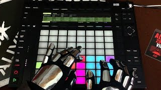 Daft Punk Da Funk Live Remake On Push 2 Ableton Live
