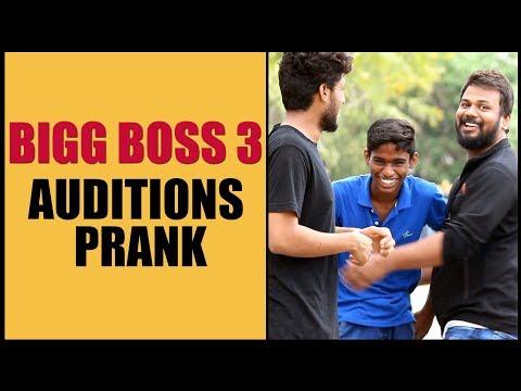 BIGG BOSS 3 Telugu Auditions Prank | Pranks in Hyderabad 2019 | Funny Telugu Pranks | FunPataka