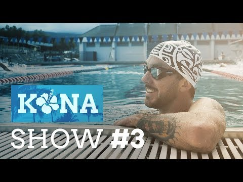 KONA Show #3 – Kona Aquatic Center, Daniela Ryf, Jan Van Berkel & Nationenparade