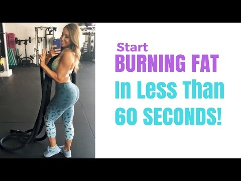 Best Cardio For Weight Loss - HIIT (with Battle Ropes)