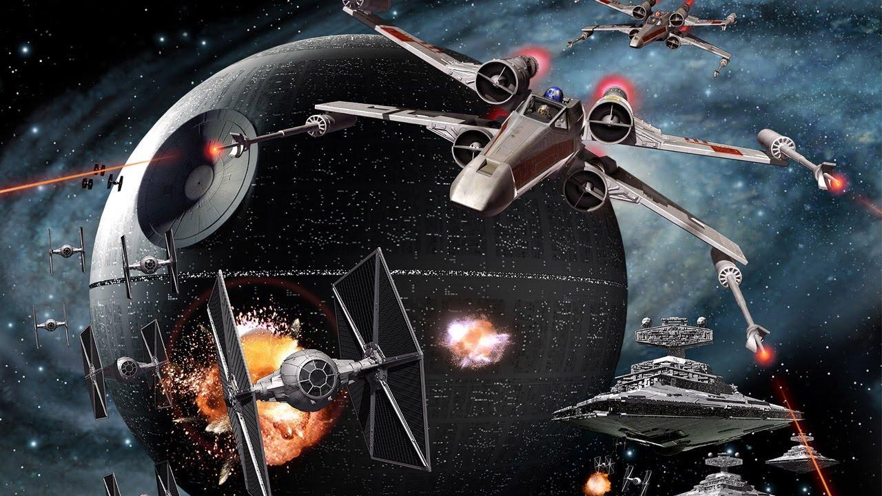 Star Wars Weltraum