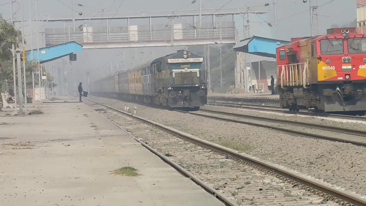 BALRAMPUR RAJDHANI EXPRESS|| GORAKHPUR|| MUMBAI TO BALRAMPUR