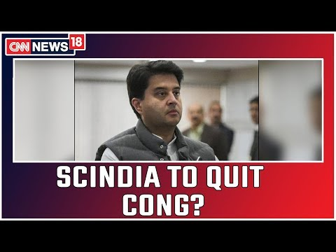 Jyotiraditya Scindia To Quit Congress? Internal Rebellion Takes Ugly Turn In Madhya Pradesh