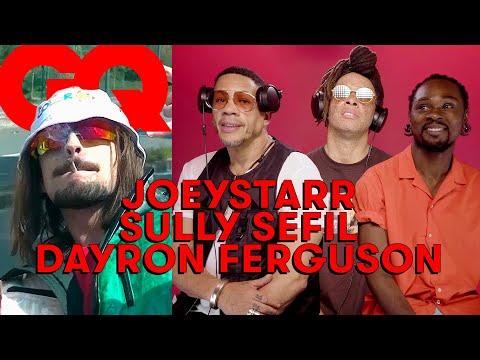Youtube: JoeyStarr, Sully Sefil & Dayron Ferguson jugent le rap français: MHD, Lefa, Lorenzo…   GQ