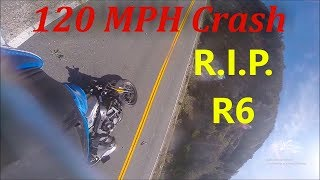 Stupid Pass = HUGE Crash (Yamaha R6 High Speed Accident)