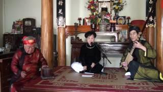ca trù cổ - nghệ nhân ưu tú NGUYỄN THỊ TAM - xã Thượng Mỗ, huyện Đan Phượng, TP. Hà Nội