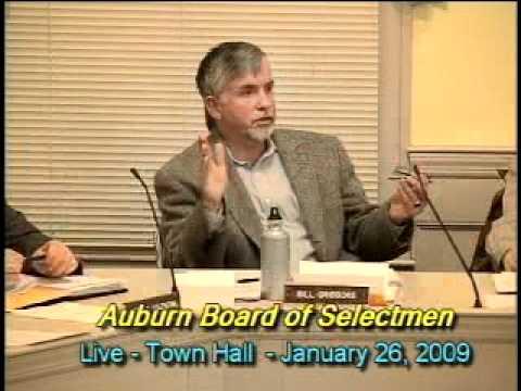 Board of Selectmen, Auburn, Massachusetts - 1/26/2009