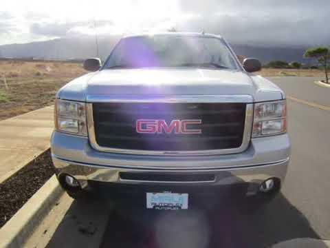 "2011 GMC Sierra 1500 4WD Crew Cab 143.5"" SLE (KAHULUI, Hawaii)"