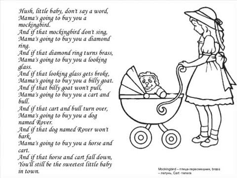 Hush Little Baby - Lullaby song by EFlashApps - YouTube