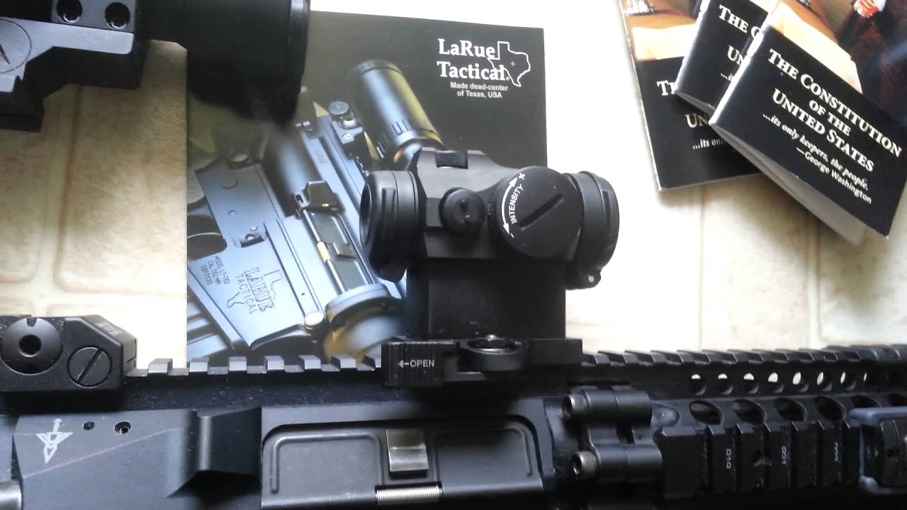 Aimpoint T2 Micro Vs Aimpoint Pro Youtube