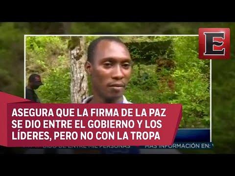 'El Guacho' explica los motivos para no respetar el acuerdo de paz
