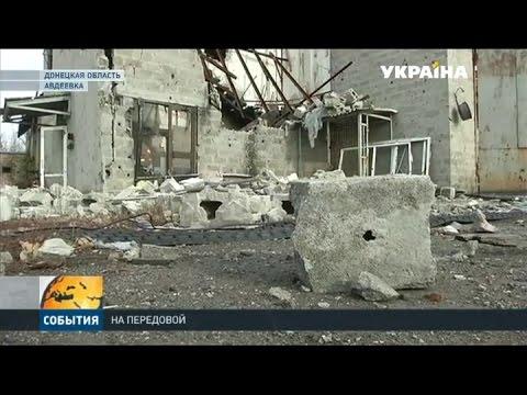 Ночью боевики больше четырех часов обстреливали позиции армейцев в авдеевской промзоне