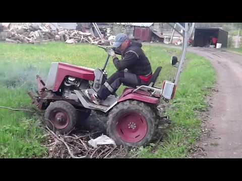 Обзор КМЗ-012 трактор