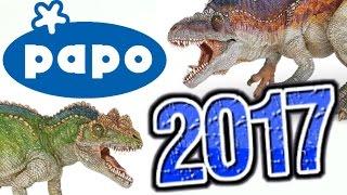 Papo || 2017 Dinosaurs REVEALED!