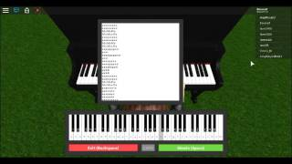 heathens Roblox piano (FULL SHEET IN DESCRIPTION)