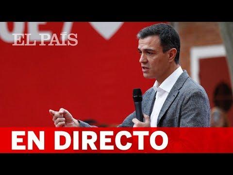 DIRECTO PSOE   Sigue el CIERRE DE CAMPAÑA de SÁNCHEZ en Valencia