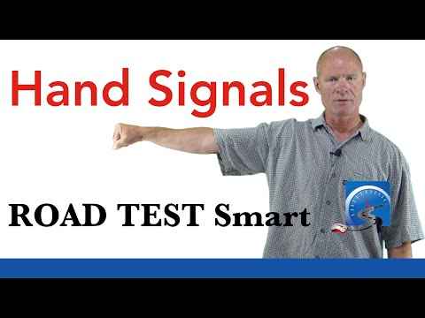 How to Use Hand Signals For a Driver's License Test   Road Test Smart