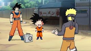 Goku vs. Naruto Rap Battle! Reaction