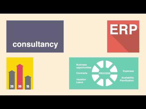 Software ERP para la gestión de proyectos y prestaciones de servicios