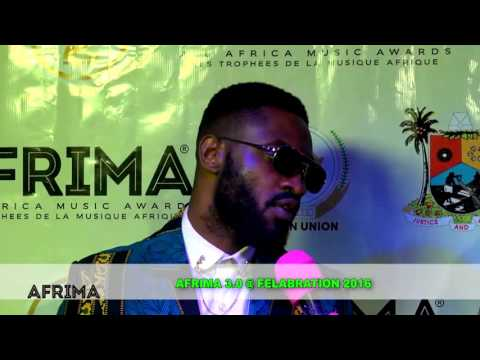 AFRIMA 2016 Best African Rnb Nominee Ric Hassani at Felabration 2016
