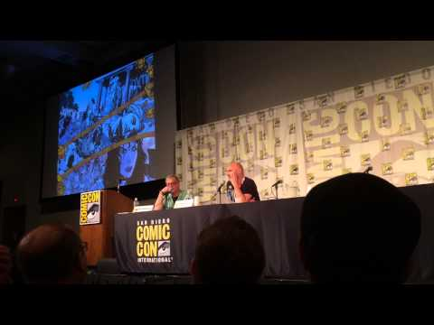 Grant Morrison on Wonder Woman: Earth One—SDCC 2015