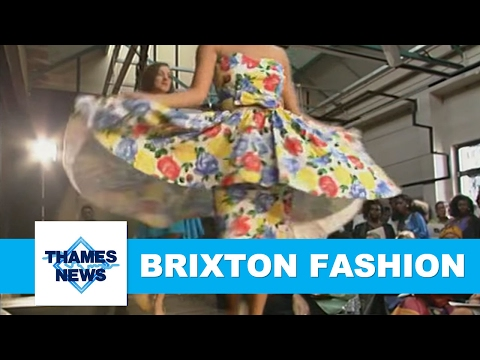 The Brixton Fashion Centre | Thames News Archive Footage