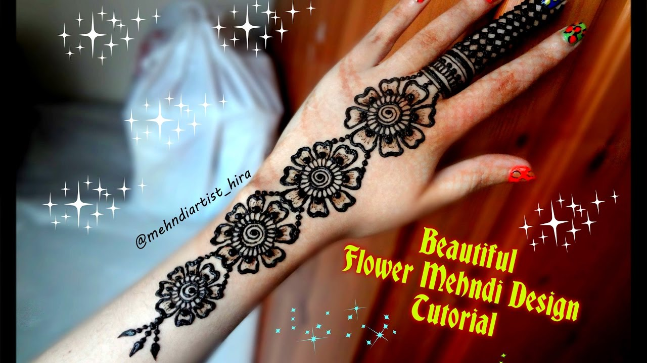 Mehndi design 2017 eid - How To Apply Easy Simple Mehndi Designs Tutorial For Eid Diwali Weddings 2017