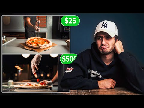 I Paid a Stranger $25 to edit my Pizza Commercial